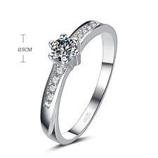 925 EP 1.0CT DIAMOND SIMULATED ENGAGEMENT RING SIZE 5 - 10 u choose