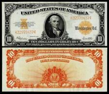1922 $10  Fr.# 1173  GOLD CERTIFICATE~ ~CH EXTRA FINE