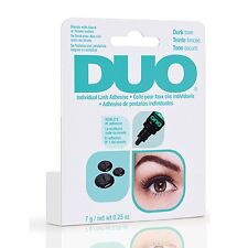 DUO Individual false Lash Adhesive Glue, DARK,  waterproof Bestselling NEW 7g