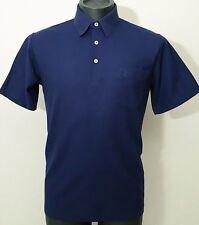 Vtg 70's Munsingwear Men's Blue PENGUIN Polo MOD Shirt M/MEDIUM
