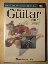 Play Guitar Today! Learn Beginner Music Lessons How To Video Hal Leonard DVD NEW