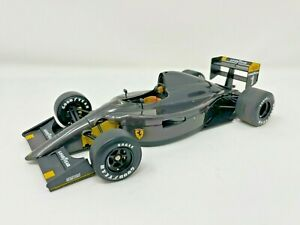Exoto Grand Prix Classics Ferrari 641/2 Plain Carbon Body 1/18 Scale w/Box <ea1>