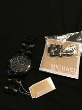 Michael Kors MK8161 Black Stainless Steel Chronograph Men's Watch