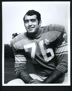 Rocky Freitas 1970 Detroit News Press Photos Detroit Lions