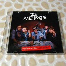 The Metros - More Money Less Grief BMG JAPAN Official Promo CD 12 Tracks #0704