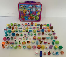 Shopkins Collectible Tin Pink Metal Lunch Box Shopkins Plus 100+ Shopkins