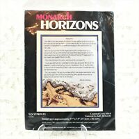 Monarch Horizons - 14-Count Cross Stitch Kit - FOOTPRINTS - From 1988