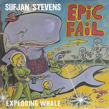 "Sufjan Stevens Exploding Whale 7"" Vinyl Record Epic Fail Fourth Of July! non lp!"