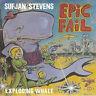 "Sufjan Stevens Exploding Whale 7"" Vinyl Record Epic Fail Fourth Of July! non lp!"