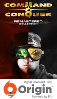 COMMAND AND CONQUER REMASTERED COLLECTION PC ORIGIN KEY