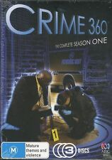 Crime 360 Complete Season One DVD NEW 3-disc Region 4