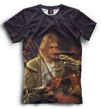 Nirvana Men's Women's Kurt Cobain T-shirt XS-5XL