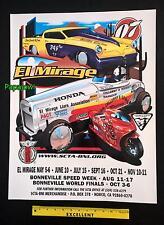 El Mirage 2007 Dry Lake Bed Poster SCTA Studebaker Roadster Bonneville Salt