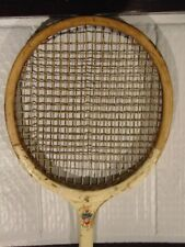 Vintage Slazenger Made in England Wooden Squash Racket