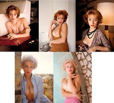 JACQUELYN PRESCOTT JOB LOT SET 10 PHOTOS 7 X 5 HOT SEXY NUDE BUSTY PIN UP 1950s
