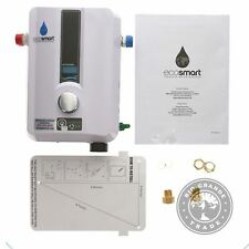 USED EcoSmart ECO 11 Electric Tankless Water Heater in White - 12 x 8 x 4