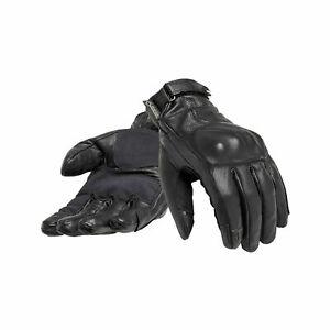 Genuine Triumph Lothian Gore-Tex Black Motorcycle Gloves