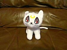 Sailor Moon White Cat Artemis Plush 6 Inches (NEW)