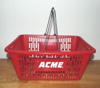 VINTAGE ACME MARKETS GROCERY STORE HAND BASKET