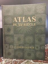 Atlas du XXème siècle R. M. OZOUF Fernand Nathan 1963 ARTBOOK by PN