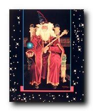 Magical Wizard Fantasy Mythical Creature Kids Room Wall Decor Art Print (16x20)