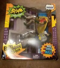 "1966 CLASSIC TV SERIES 6"" ADAM WEST BATMAN & BURT WARD ROBIN SET FREE SHIPPING!"