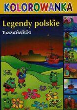 Kolorowanka Legendy Torunskie.Nazywam się Jan Paweł II(cd) dzieci Torun Polska