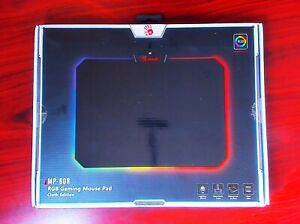 "RGB Mouse Pad Gaming - SIZE 14""X10"" - Cloth Surface - BLOODY A4 MP-60R - NEW"