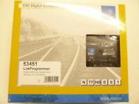 ESU 53451 Lokprogrammer mit Netzteil, serielles Kabel, USB Adapter,Neuware