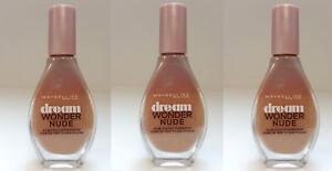 3 Stk. Maybelline Dream Wonder Nude Foundation Make Up 40 Fawn Cannelle