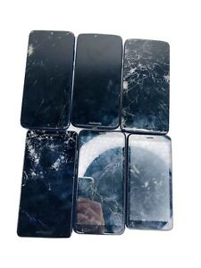 Untested Cell Phones, Various Models samsung AS-IS parts Only LOT OF 6
