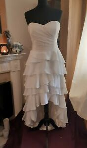 Gorgeous New Ivory & Cream Wedding Dress By Coast Size. 14 (more like a 12)