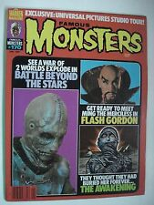 FAMOUS MONSTERS FLASH GORDON - THE AWAKENING ENGLISH MAGAZINE # 170 1981