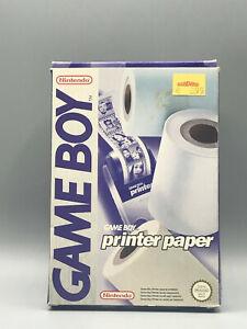 Nintendo Game Boy GameBoy Printer Paper in OVP inkl 3 Rollen Top Zustand