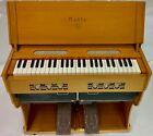 Noble vintage portable pump organ