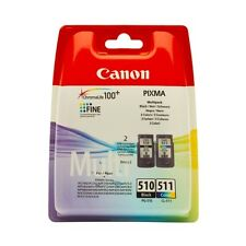 PG-510+CL-511-2970B010 MULTIPACK CARTUCCE ORIGINALI CANON PIXMA MX360