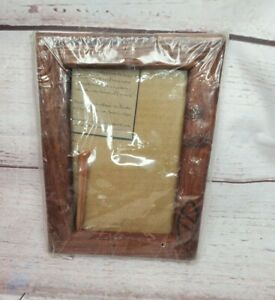 Tanzania Mninga Wood Sopa Lodges Handcrafted Picture Frame