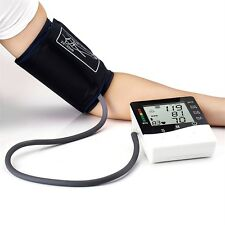 Digital LCD Wrist Blood Pressure Monitor Heart Beat Rate Pulse Measure Device ZJ