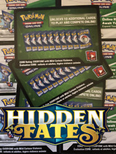 50x Hidden Fates Pokemon TCG Online Codes