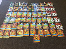 Marvel Legends DC Universe Classics Card Back File Card Only Lot Of 59! Pics!