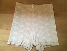 Vintage Promise by Poirette Nude Lace Girdle Panties Spanx: Size 27 - 28 USA