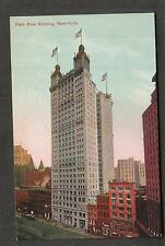 unmailed post card New York Park Row Building