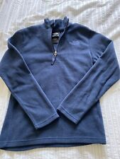 Boys Blue The North Face Zip Up Hoodie Size M Age 10-12Yrs