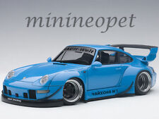 AUTOart 78152 PORSCHE RWB 993 1/18 BLUE with GUN GREY WHEELS