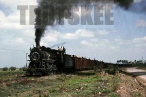 35mm Slide CUBA Railways Industrial Steam Loco 1812 1995 Original