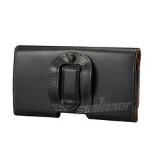 Belt Clip Pouch Holster Leather Case For Samsung Galaxy Note 2 Note II N7100