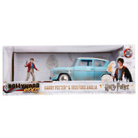 Jada 1959 Ford Anglia Hollywood Rides Harry Potter with Figure 1:24 31127