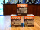 Three (3) FRAM Tough Guard 15K Mile Change Interval Oil Filters