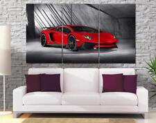 Aventador Canvas Print 3 piece Lamborghini Art 71in x 40in