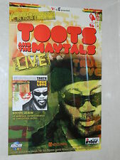 TOOTS AND THE MAYTALS / Affiche  Originale  / Original Concert Poster - 40 x 60